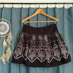 Dresses & Skirts - Dark Grey & White Skirt